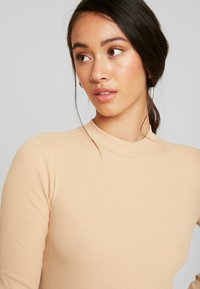 Even&Odd - BODYSUIT BASIC - Longsleeve - tan - 4