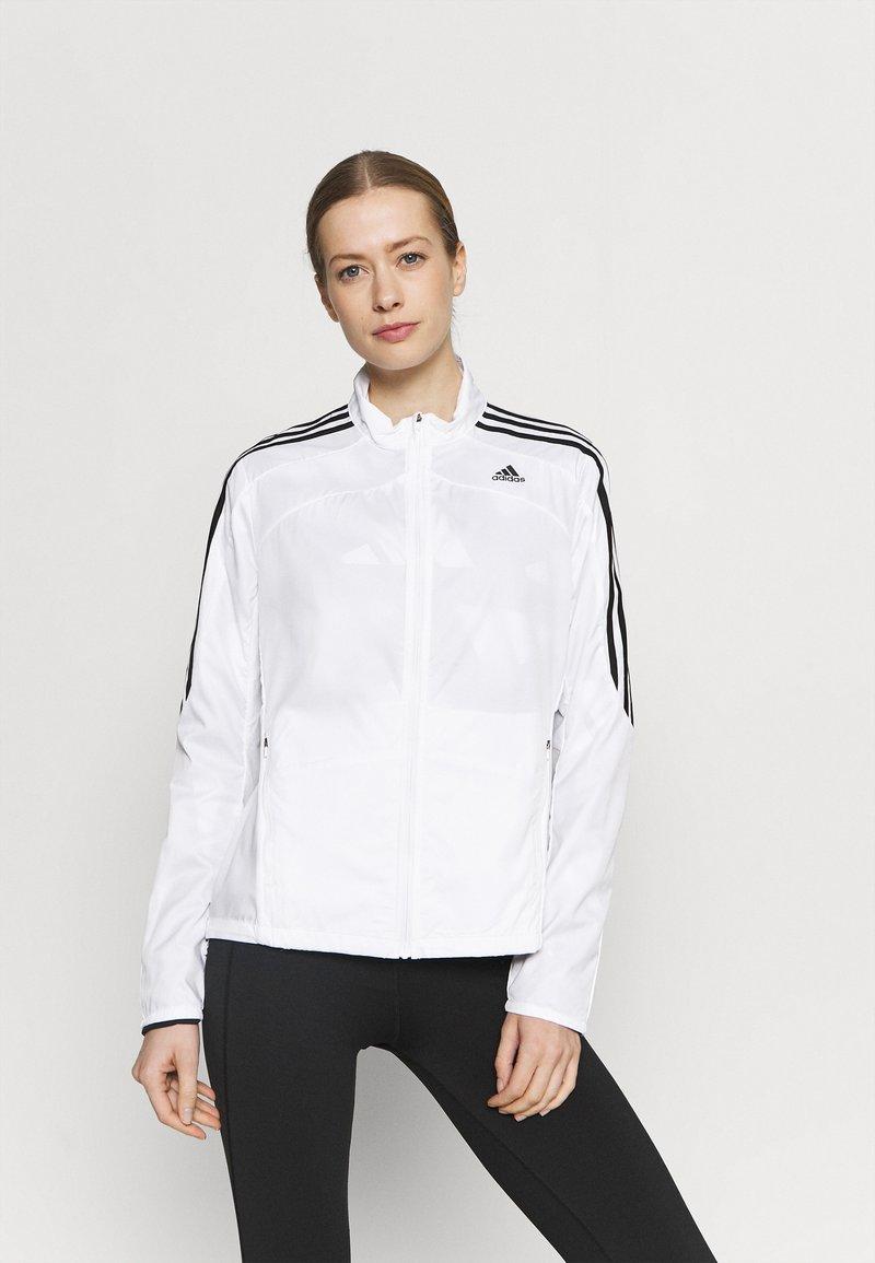 adidas Performance - MARATHON  - Sports jacket - white