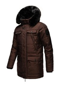 Navahoo - LUAAN - Winter coat - brown melange - 1