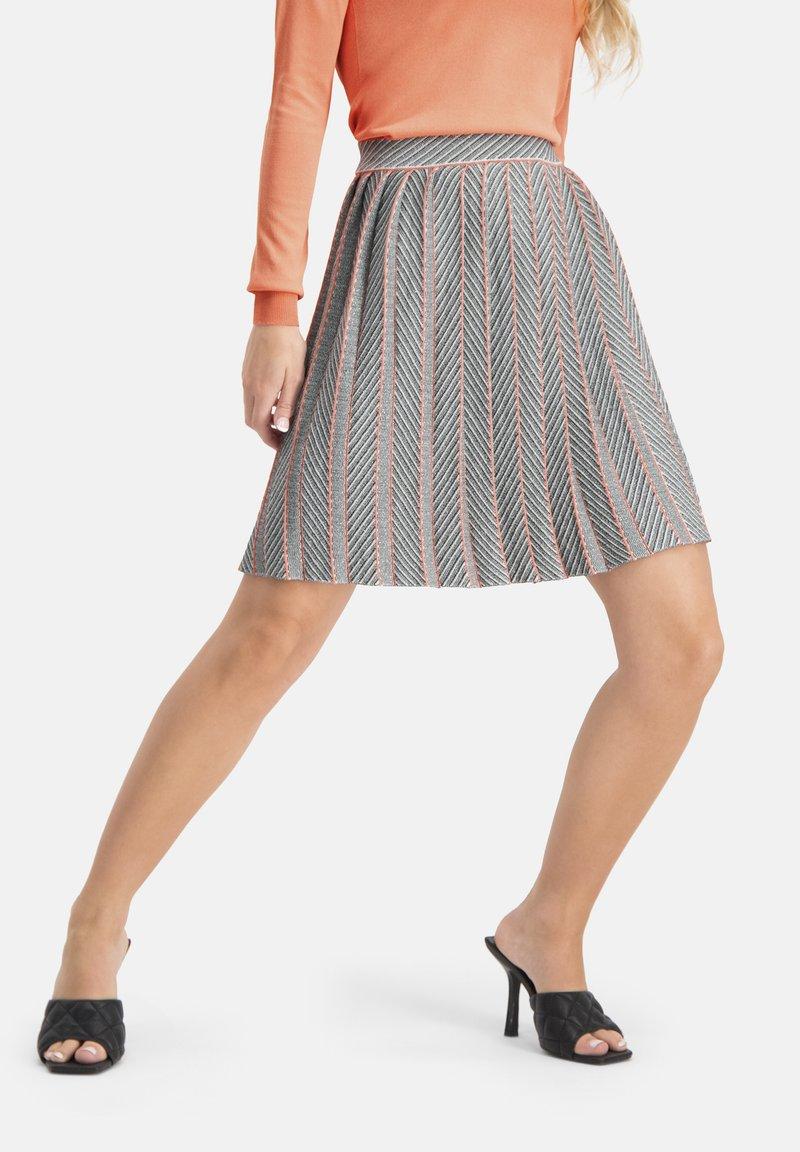 Nicowa - ALEGRO - A-line skirt - grau