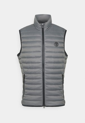 REGULAR FIT - Bodywarmer - cement