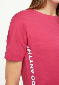 comma casual identity - Sweatshirt - pink - 4