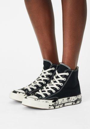 CHUCK 70 FLORAL FUSION - Zapatillas altas - black/egret