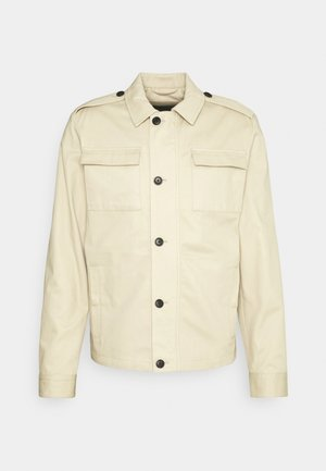 JPRJORDAN UTILITY JACKET - Summer jacket - white pepper