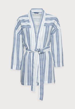 KIMONO LINO - Short coat - dark blue