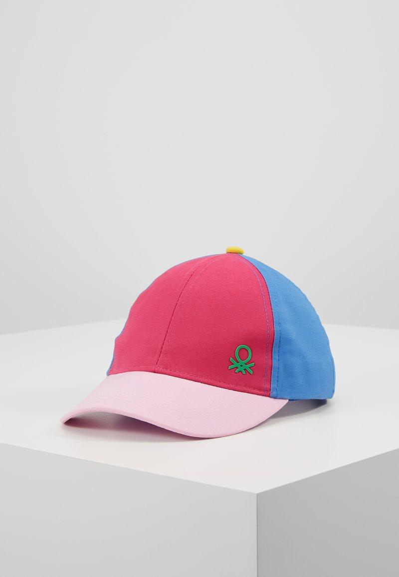 Benetton - WITH VISOR - Gorra - light pink