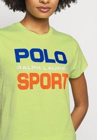 Polo Ralph Lauren - T-shirt con stampa - bright pear - 4