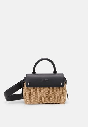 IKON MINI TOP HANDLE - Sac bandoulière - natural/black