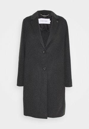 DOUBLE FACE ELASTIC  - Classic coat - charcoal melange