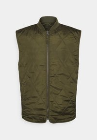 Only & Sons - ONSMAGNES LIFE REVERSIBLE VEST  - Waistcoat - chinchilla - 6
