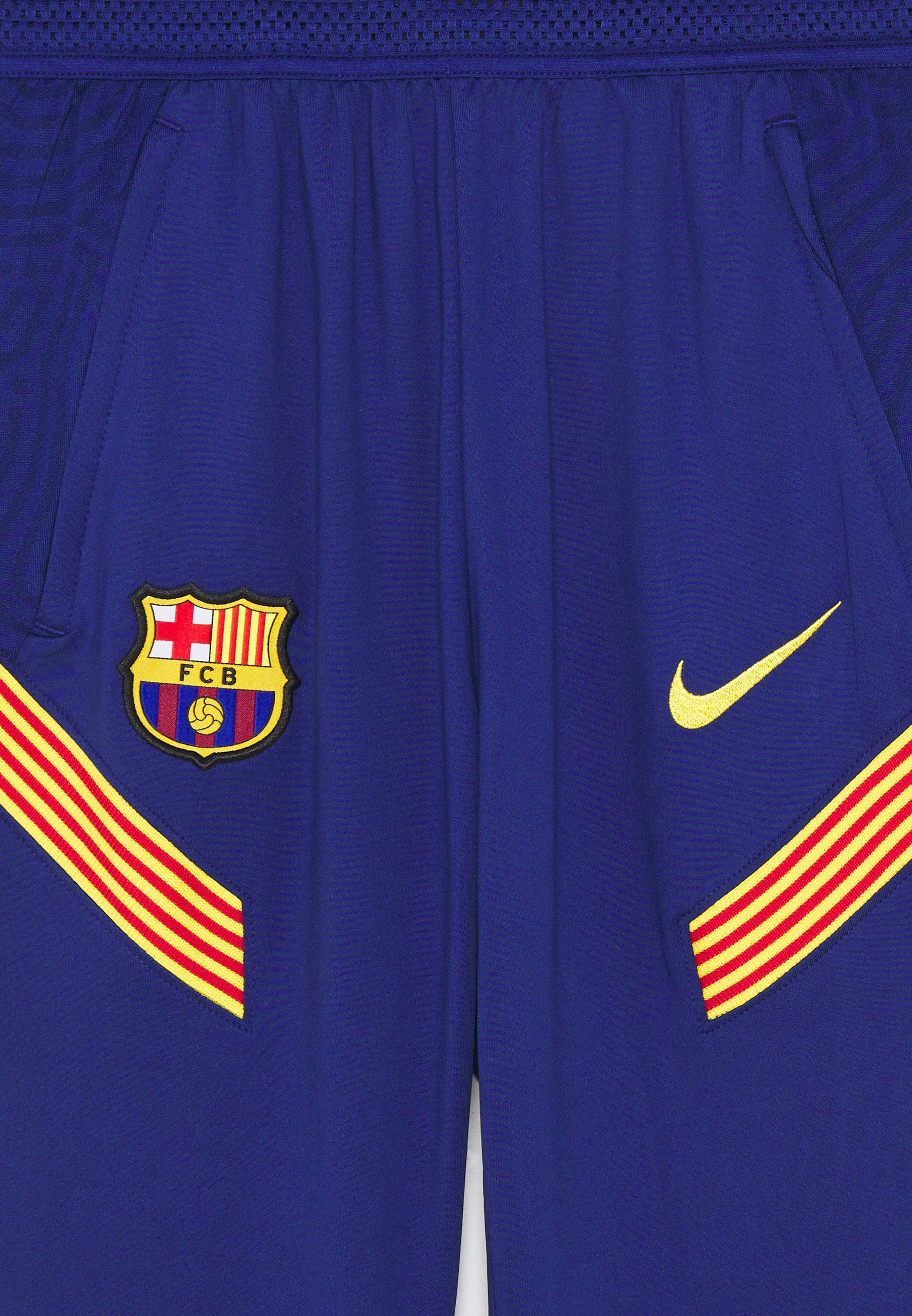A hoy Nike Performance FC BARCELONA  PANT - Equipación de clubes - deep royal blue/amarillo | Ropa para niños 2020 mASGq