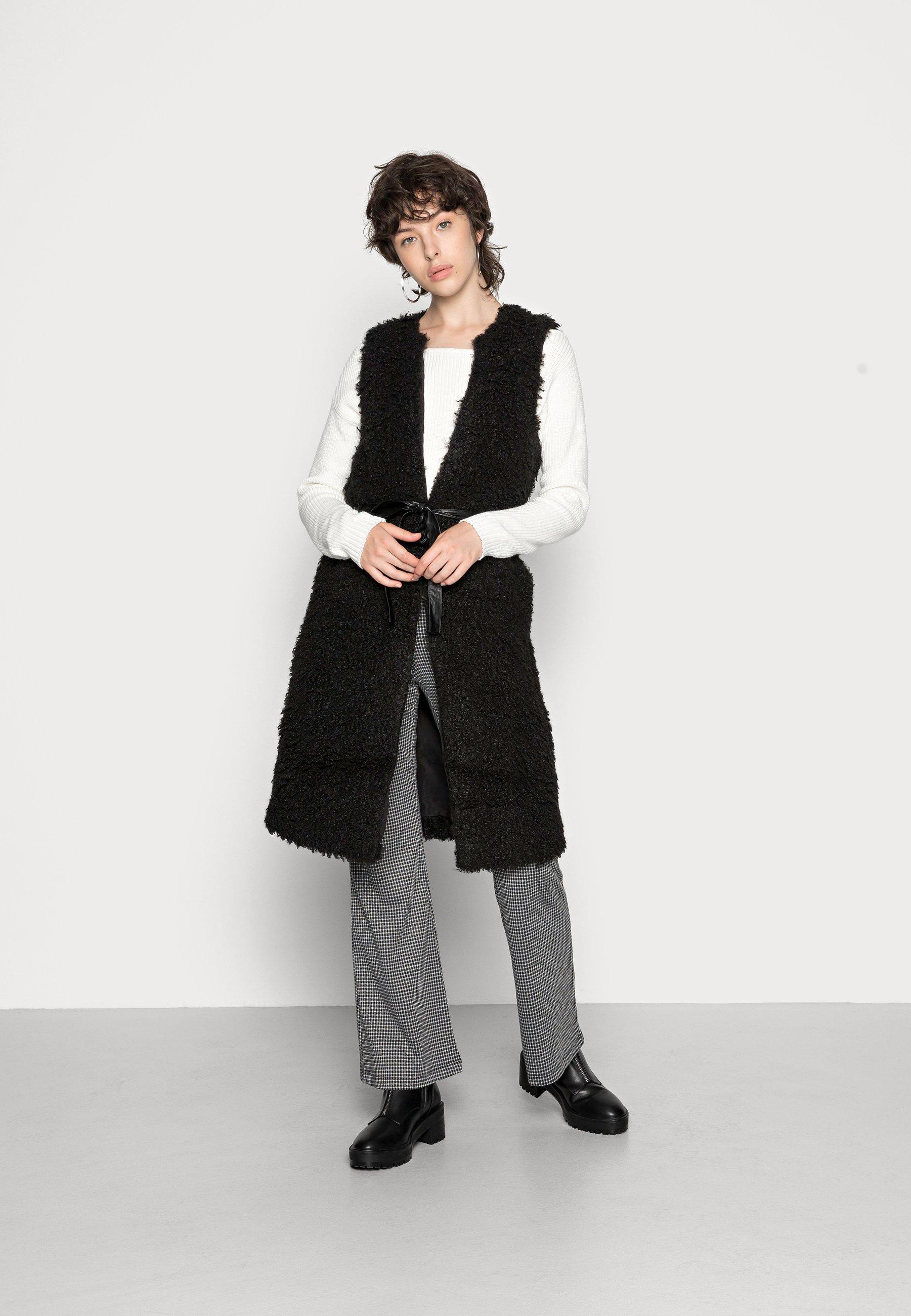 Women ONLLONE LONG WAISTCOAT - Waistcoat