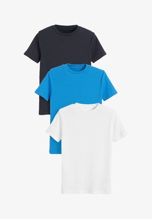 3 PACK - Basic T-shirt - blue