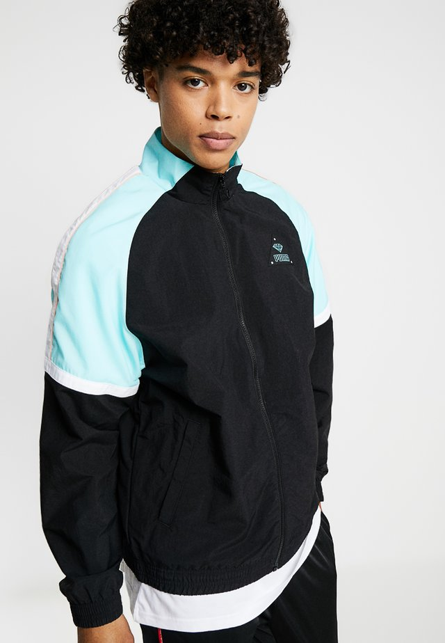 DIAMOND TRACK TOP - Training jacket - black