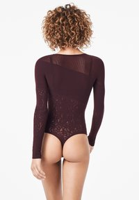 Wolford - POISON DART NET STRING - Body - chateau - 1