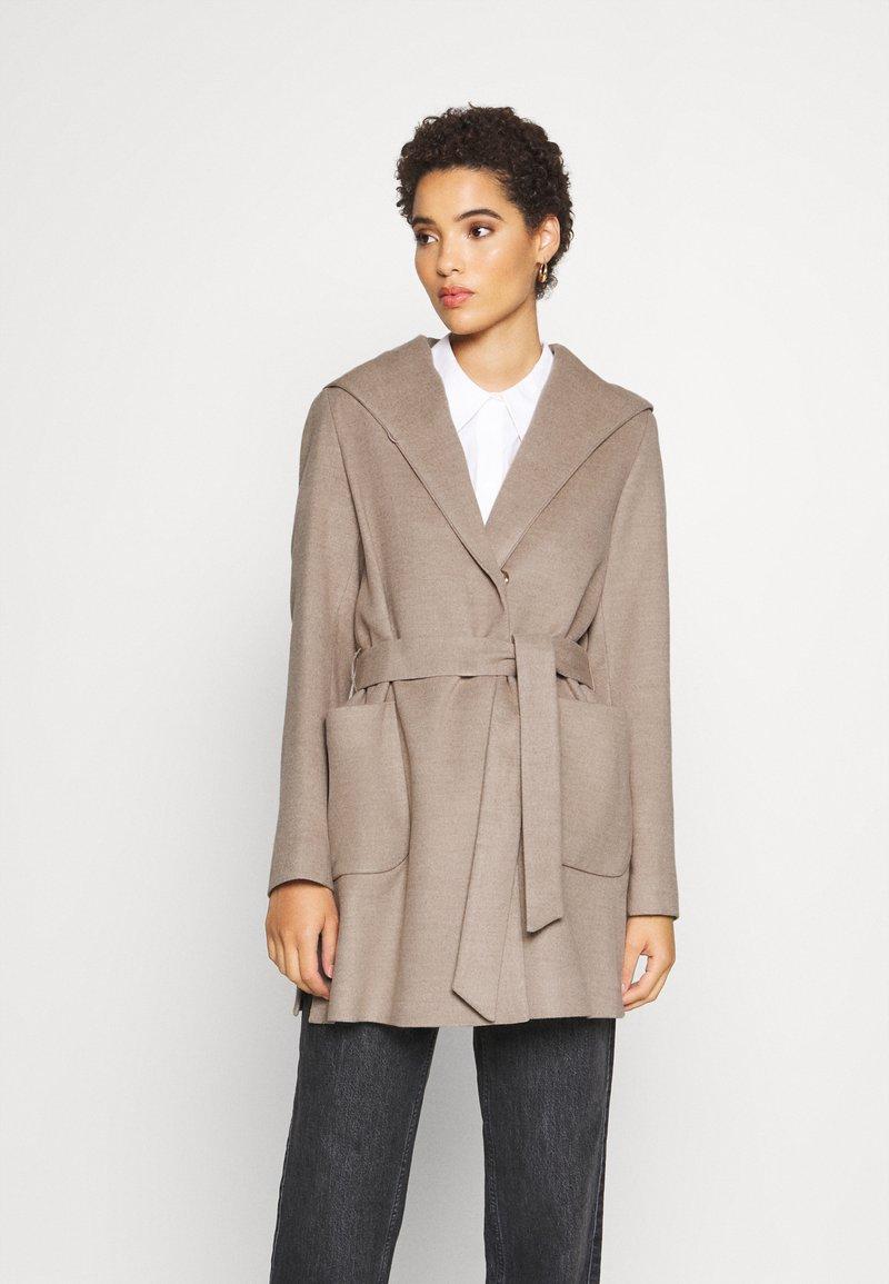 comma - Classic coat - camel mela