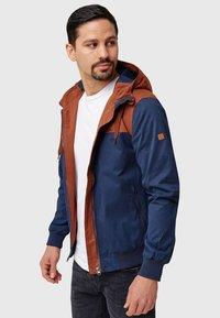 INDICODE JEANS - FLEMMING - Light jacket - rootbeer - 9