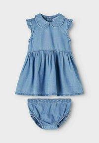 Name it - Denim dress - medium blue denim - 2