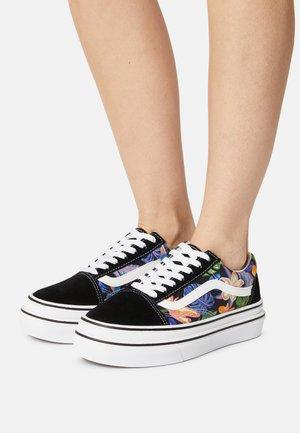 SUPER COMFYCUSH OLD SKOOL - Sneakers - tropicali black/true white