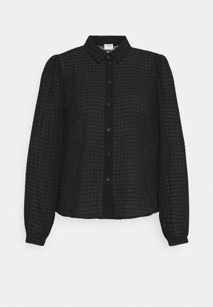 JDYDIANE PUFF SHIRT - Košile - black