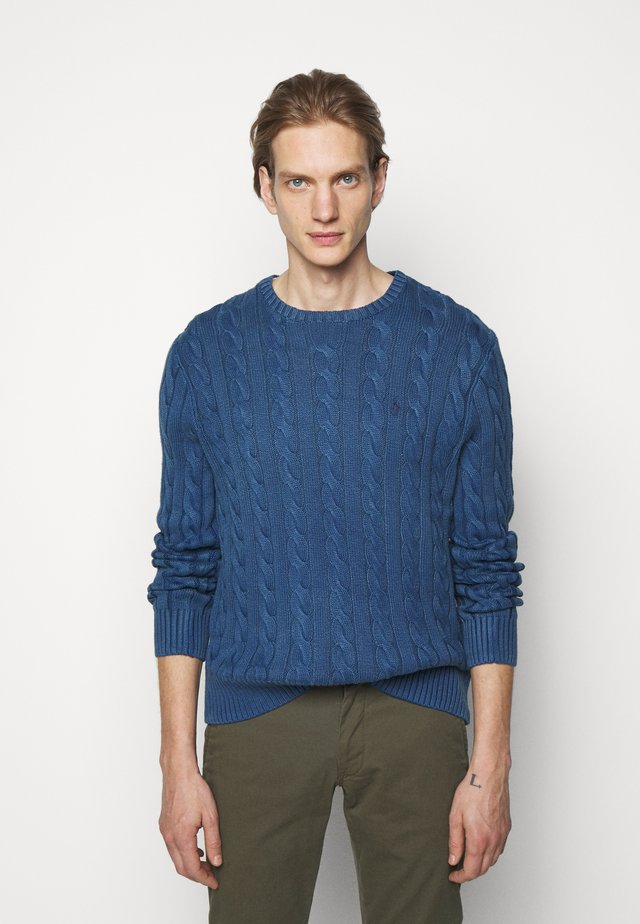 Pullover - aged royal