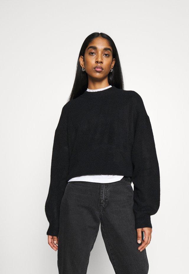 AGGIE  - Sweter - black