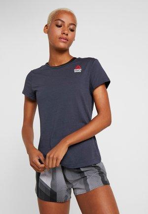 TEE GAMES - T-shirt z nadrukiem - heritage navy