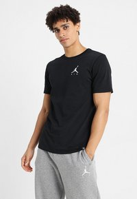 Jordan - JUMPMAN AIR TEE - T-shirt basic - black/white - 0