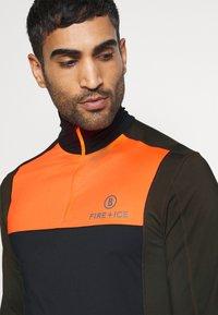 Bogner Fire + Ice - MIKAL - T-shirt à manches longues - black - 4