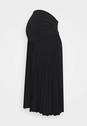 MATERTNIY SKIRT - Áčková sukně - black
