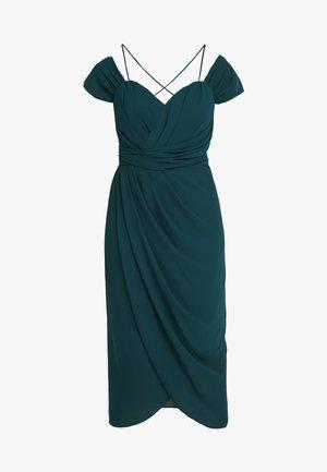 EXLUSIVE ENTWINE DRESS - Vestito elegante - emerald