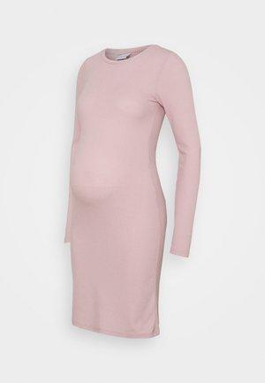 Pletené šaty - violet ice