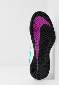 Nike Performance - AIR ZOOM VAPOR X - Tenisové boty na všechny povrchy - summit white/white/black/electro green - 4