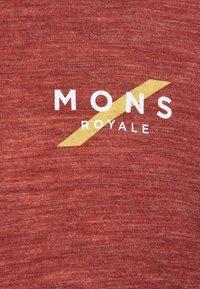 Mons Royale - VAPOUR  - Top sdlouhým rukávem - navy/chocolate - 2