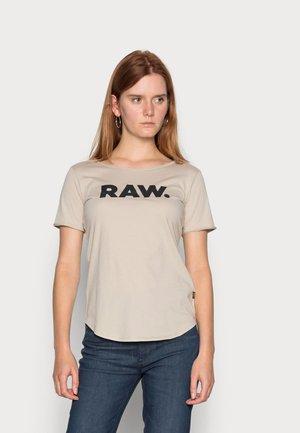 RAW SLIM GRAPHIC - Marškinėliai su spaudiniu - brick