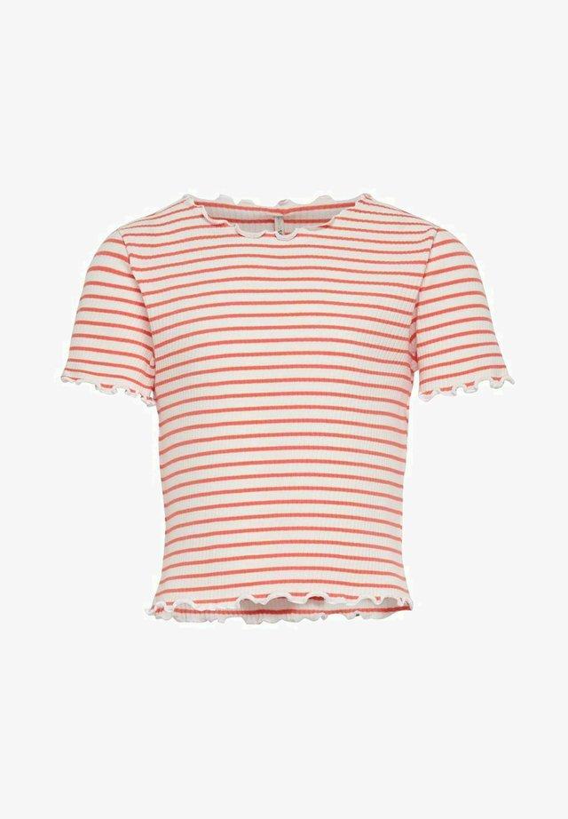 T-Shirt print - living coral