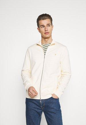 BOWMONT - Zip-up hoodie - cream