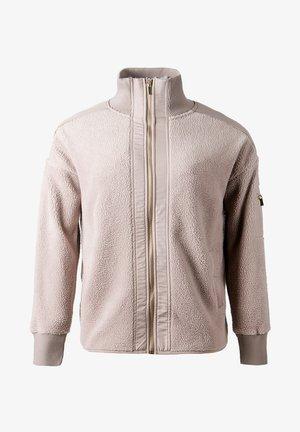 Fleece jacket - chateau rose