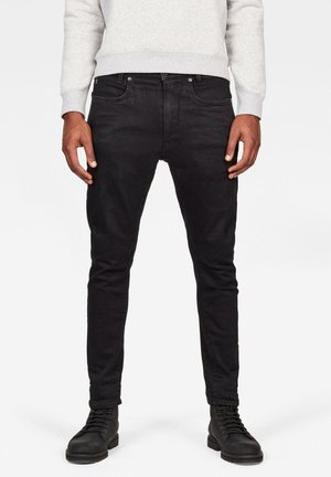 D-STAQ 3D  - Slim fit jeans - pitch black