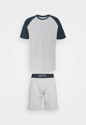 SHORT SET - Pyžamo - grey