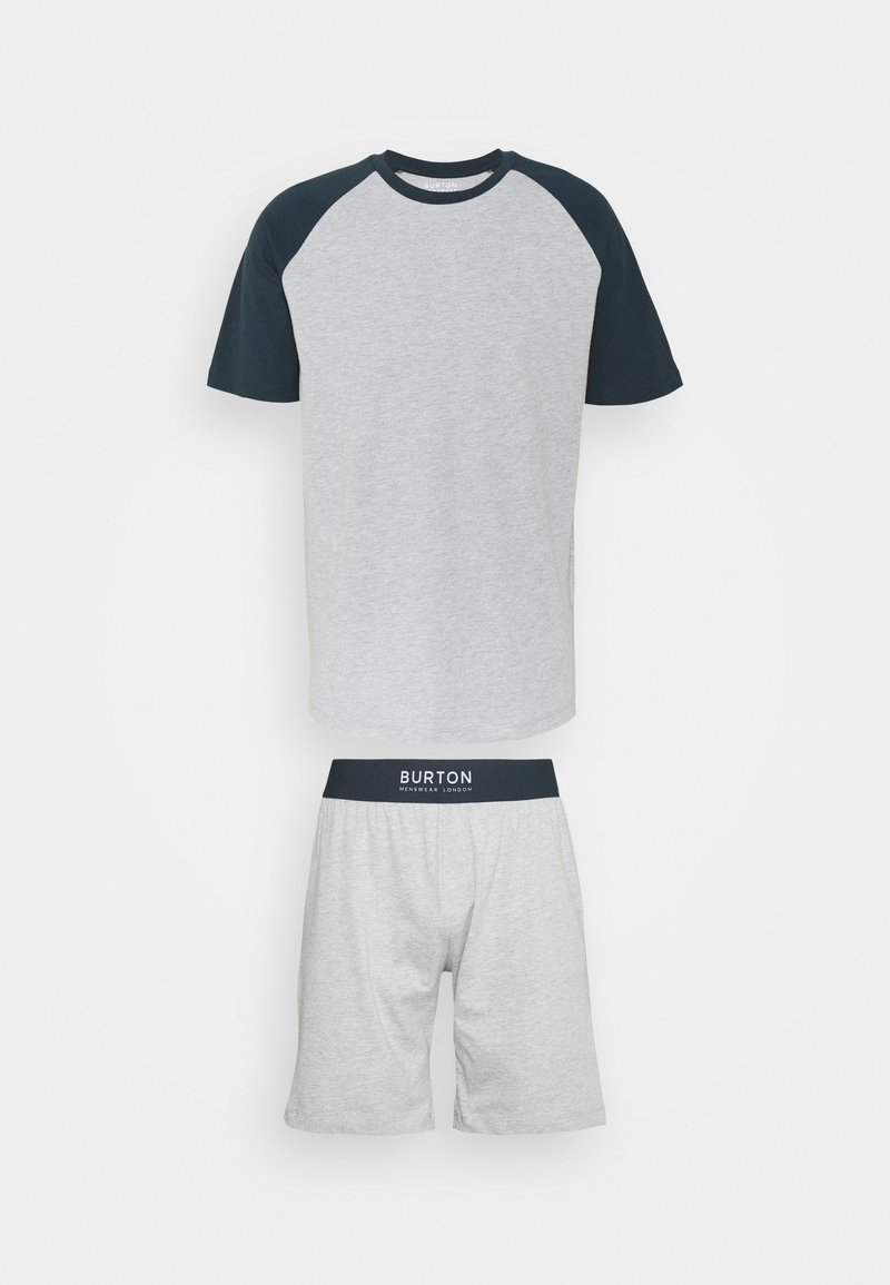 Burton Menswear London - SHORT SET - Pyžamo - grey