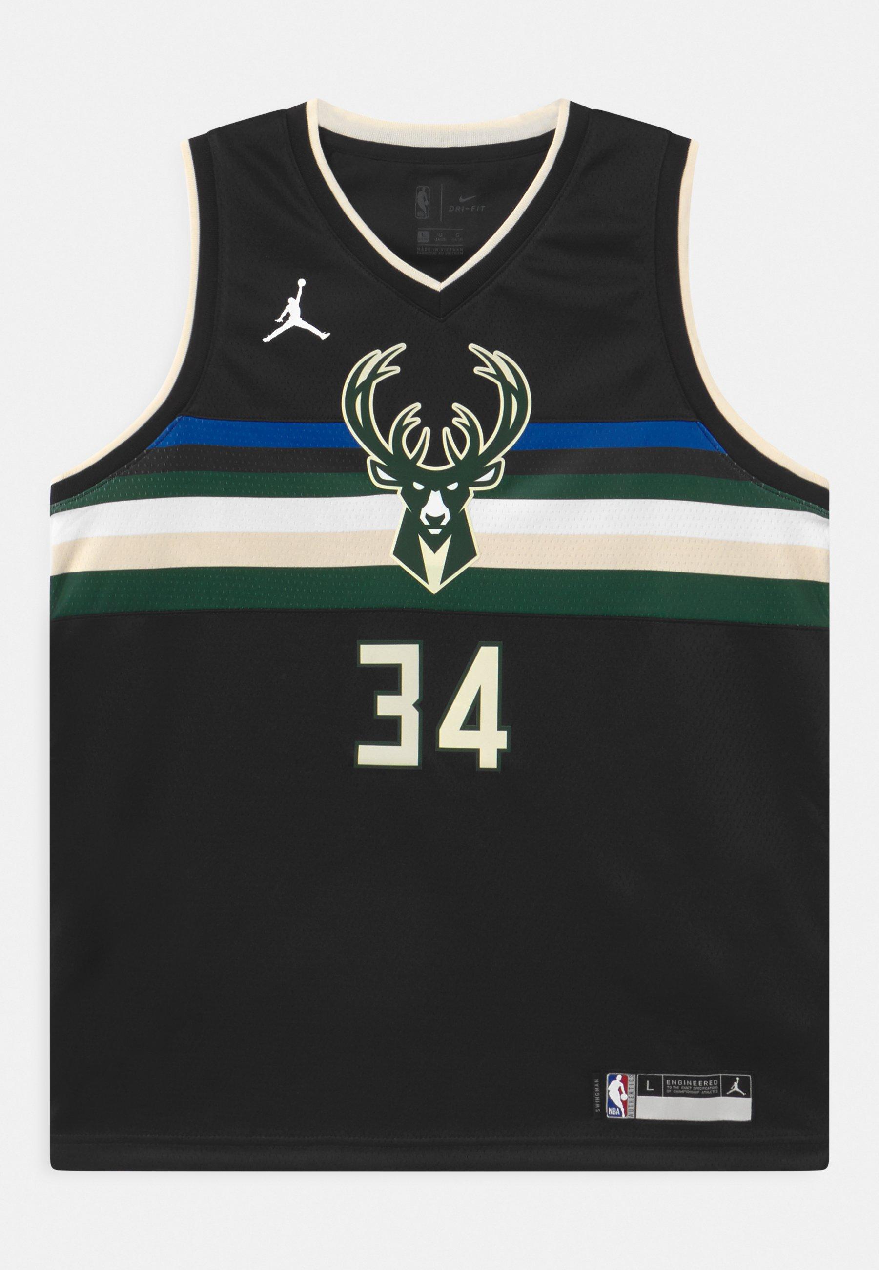 Kids NBA MILWAUKEE BUCKS GIANNIS ANTETOKOUNMPO UNISEXBOYS STATEMENT SWINGMAN - Club wear