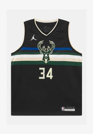NBA MILWAUKEE BUCKS GIANNIS ANTETOKOUNMPO UNISEXBOYS STATEMENT SWINGMAN - Club wear - black