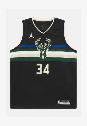 NBA MILWAUKEE BUCKS GIANNIS ANTETOKOUNMPO UNISEXBOYS STATEMENT SWINGMAN - Club wear - black