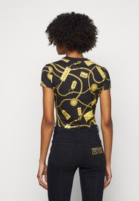 Versace Jeans Couture - Triko spotiskem - black - 2