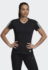 adidas Performance - RUN IT TEE - Print T-shirt - black - 0