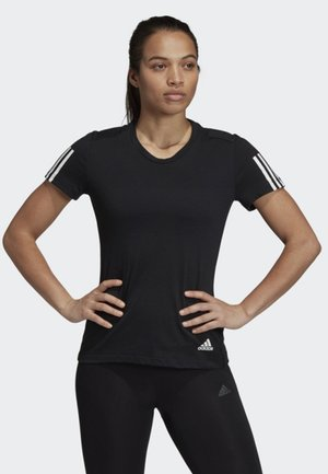 RUN IT TEE - T-shirt imprimé - black