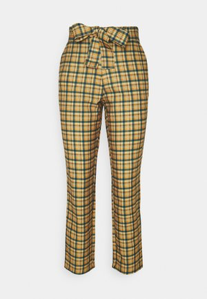 VIRULER 7/8 BELT PANTS - Trousers - butternut/multi