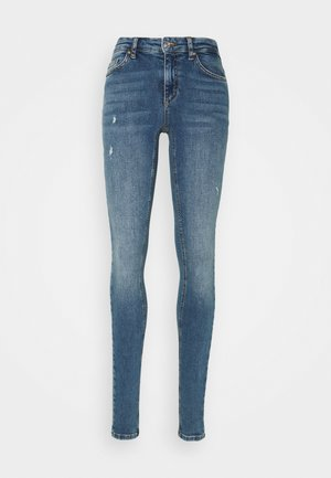 ONLCARMEN LIFE - Jeans Skinny Fit - dark blue denim