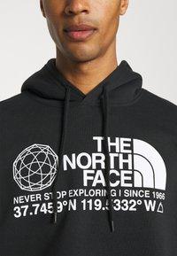 The North Face - COORDINATES HOODIE - Hoodie - black - 4